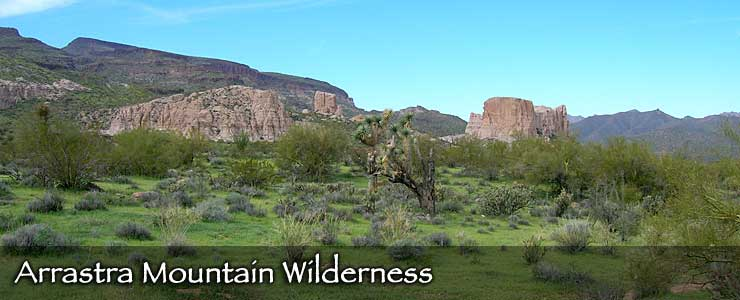 Arrastra Mountain Wilderness