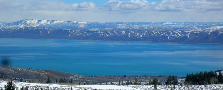 Bear Lake from the Bear Lake Overlook above Garden City