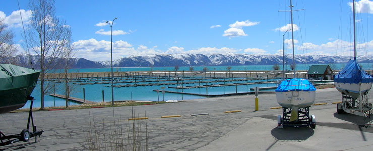 Bear Lake State Park marina