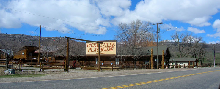 Pickleville Playhouse, along the Bear Lake Scenic Byway