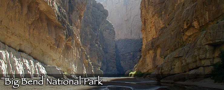 Santa Elena Canyon - Big Bend National Park
