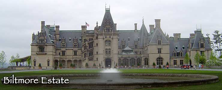 The Biltmore Estate in Asheville