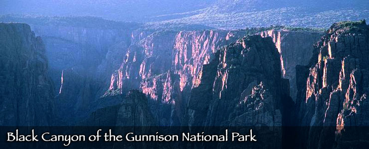 Black Canyon of the Gunnison at sunrise