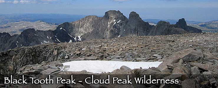 Black Tooth Peak - Cloud Peak Wilderness