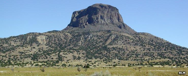 Cabezon Peak in Sandoval County