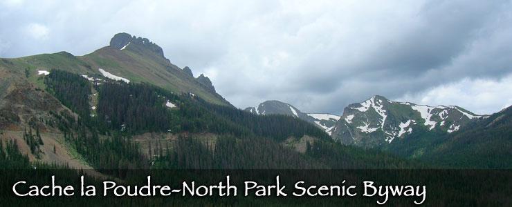 Nokhu Crags, Cache la Poudre-North Park Scenic Byway
