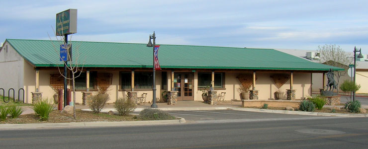 The Camp Verde Chamber of Commerce building