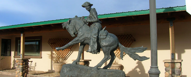 Statue in downtown Camp Verde