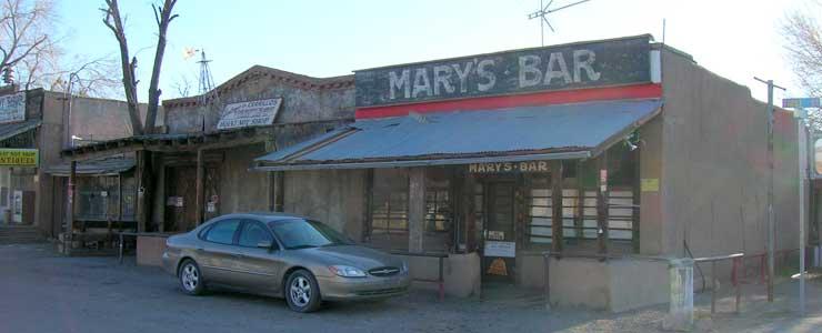 Mary's Bar in Los Cerrillos
