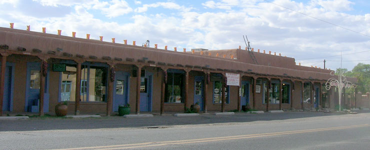 Storefronts on Corrales Road