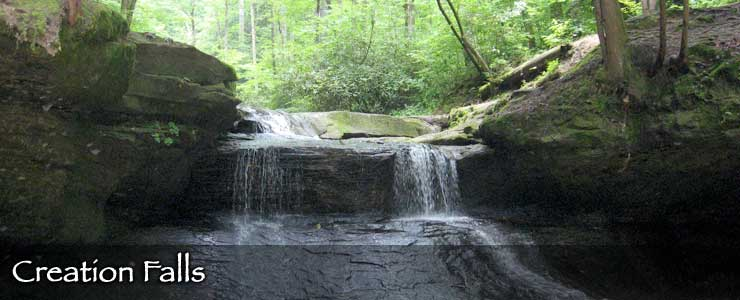 Creation Falls in Red River Gorge, Daniel Boone National Forest