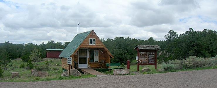 Office at Datil Well Recreation Area and Campground