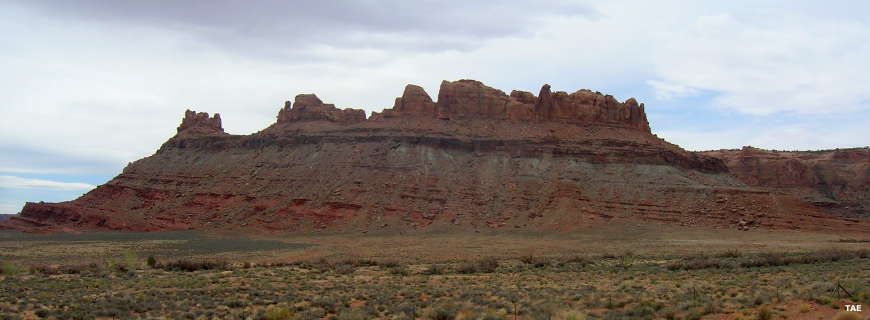 A view along the Dead Horse Mesa Scenic Byway