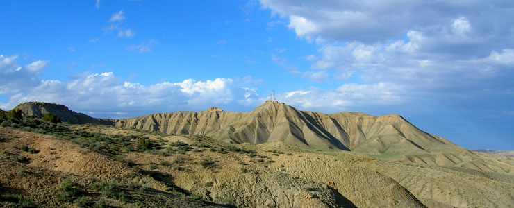 North of Rangely on the Dinosaur Diamond Prehistoric Highway