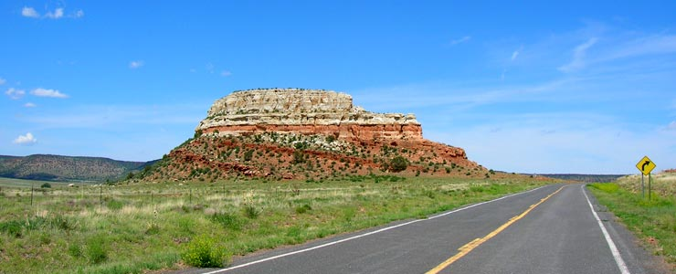 Along the Dry Cimarron Scenic Byway in Union County