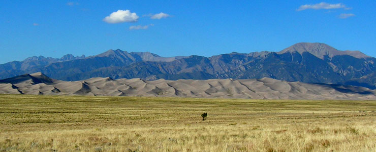 Another view north across Great Sand Dunes National Park