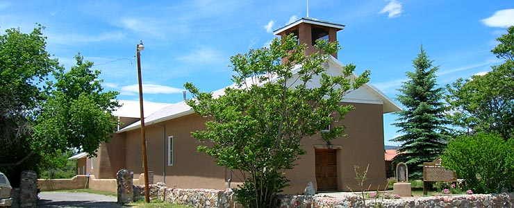 The oldest church in New Mexico