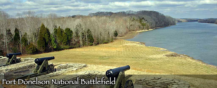 River batteries at Fort Donelson National Battlefield