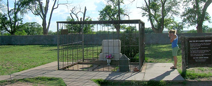 Grave site of Billy the Kid