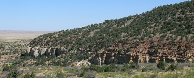 Between Mosquero and Garcia on La Frontera del Llano Scenic Byway