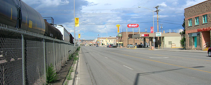 On Historic Route 66 in Gallup