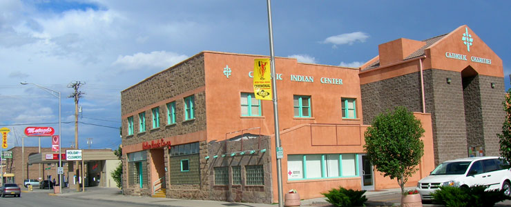 Catholic Charities in downtown Gallup