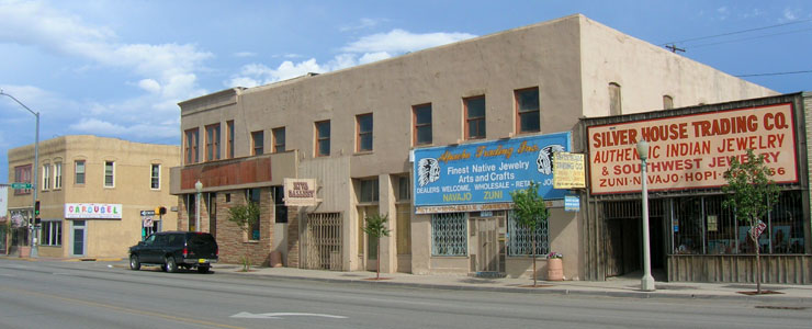 In downtown Gallup
