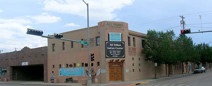 All Tribes Center in downtown Gallup