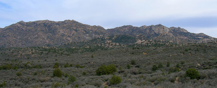 Granite Mountain in Yavapai County, Arizona