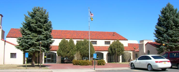 Cibola County Courthouse in Grants