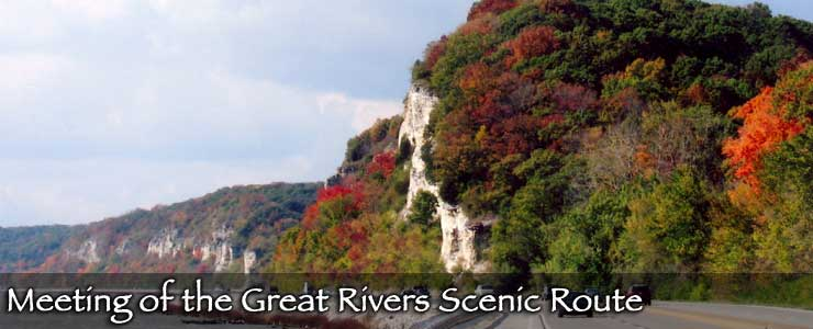 Meeting of the Great Rivers Scenic Route