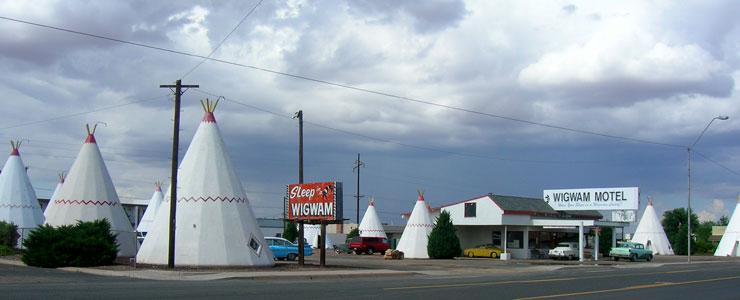 The Wigwam Motel in Holbrook, Arizona