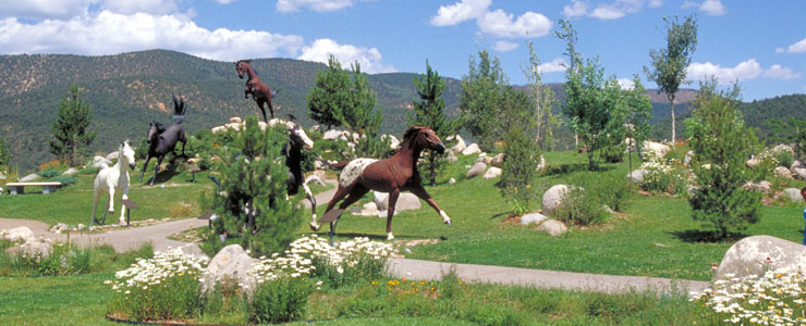 Free Spirits at Noisy Water, Hubbard Museum of the American West