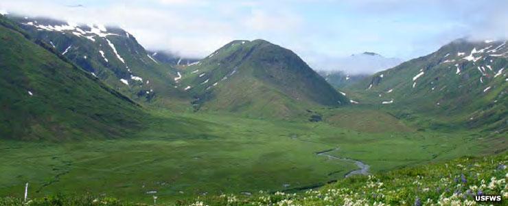 Jarmin Pass, Aleutian Islands Unit