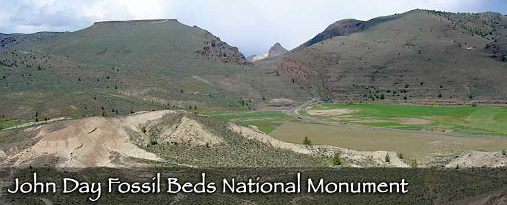 John Day Fossil Beds National Monument, Sheep Rock Unit
