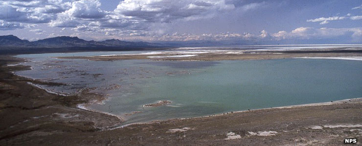 Lake Lucero, part of White Sands National Monument