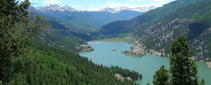 Lake San Cristobal, Hinsdale County, Colorado