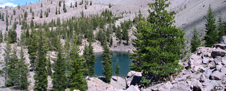 Crags Lake, Lassen Volcanic National Park
