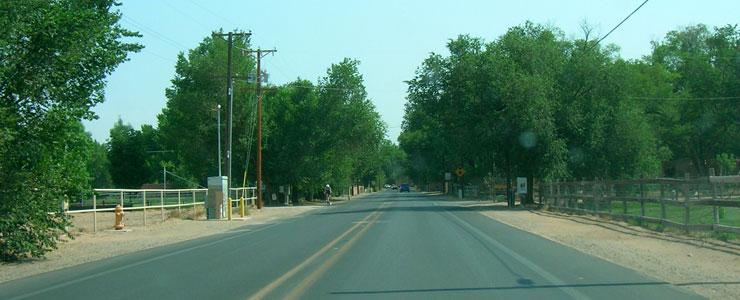 On Rio Grande Boulevard in Los Ranchos
