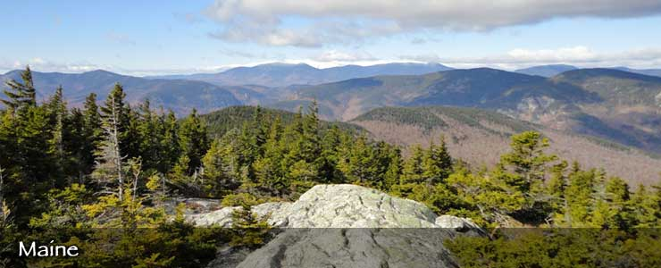 Caribou-Speckled Mountain Wilderness, Maine