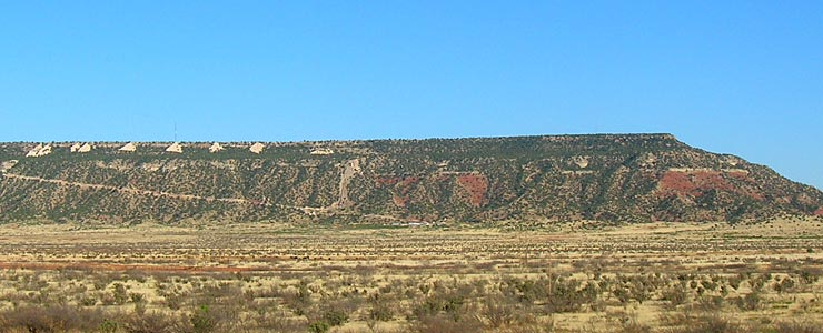 Along Mesalands Scenic Byway in Guadalupe County