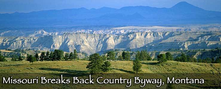 Missouri Breaks Backcountry Byway, Montana