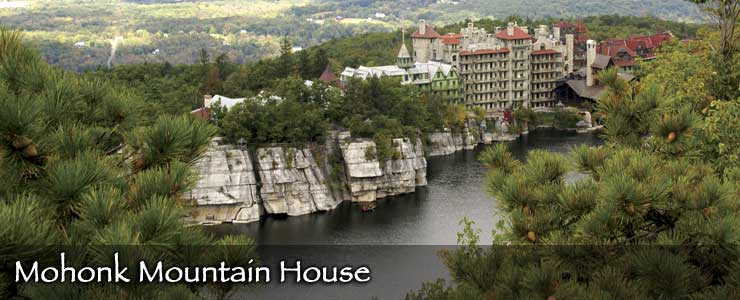 Mohonk Mountain House in the Shawangunk Mountains