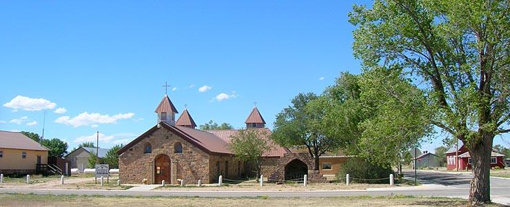 The Catholic Church in Mosquero