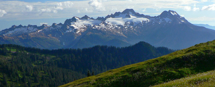 Twin Sisters Peaks, Mount Baker Wilderness