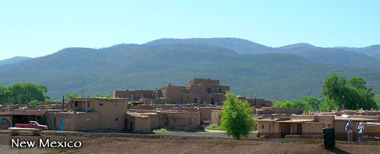 Taos Pueblo World Heritage Site, New Mexico