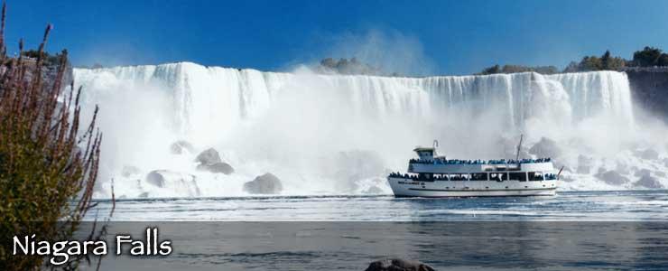 Niagara Falls and Maid of the Mist