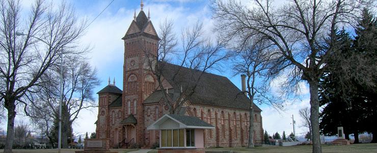 LDS Tabernacle in Paris, Idaho