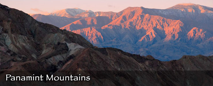 The Panamint Mountains