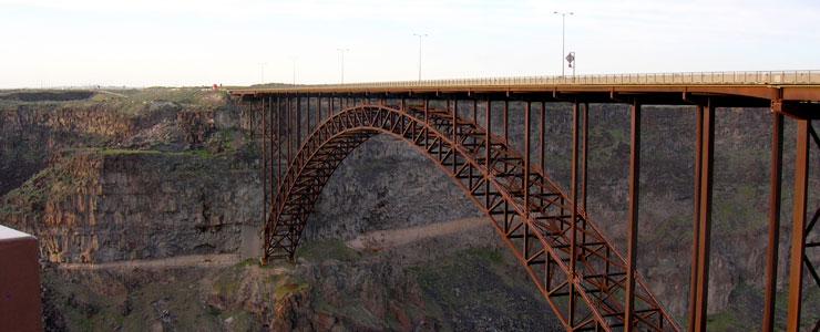 Perrine Bridge over Snake River Canyon